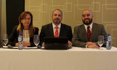 Graciela Mundielli, Pablo de Luca y Gustavo Noguera