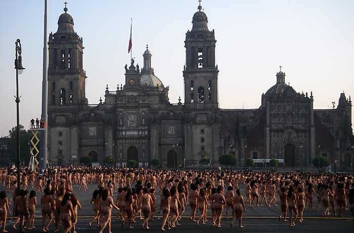México D.F. - Spencer Tunick
